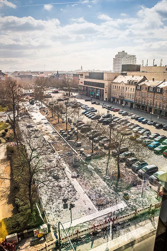 Baustelle Fürther Markt KW12