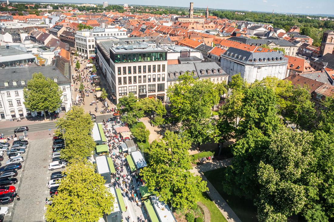 Fürther Markt – Fürther Freiheit & Dr.-Konrad-Adenauer-Anlage
