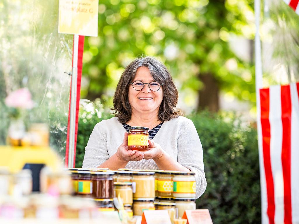 Mobile Markthändler: Honigmanufaktur Pommersfelden