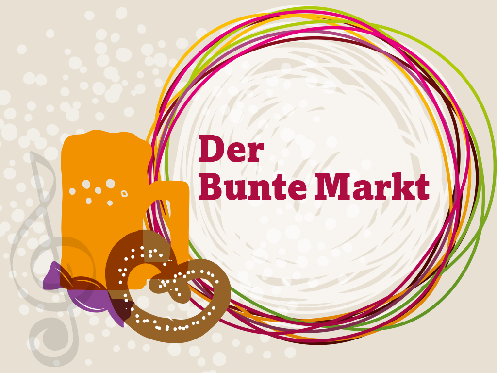 Es geht in die Verlängerung: Der Bunte Markt bis zum 19.9.2021